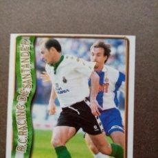 Cromos de Fútbol: Nº 296 ESTEBAN TORRE, R. RACING C. SANTANDER, FICHAS LIGA 1996 1997 96/97 MUNDICROMO. Lote 243943885