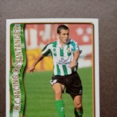 Cromos de Fútbol: Nº 293 IÑAKI, R. RACING C. SANTANDER, FICHAS LIGA 1996 1997 96/97 MUNDICROMO. Lote 243943965