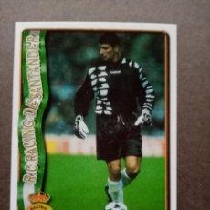 Cromos de Fútbol: Nº 292 MARCOS, ULTIMA HORA, R. RACING C. SANTANDER, FICHAS LIGA 1996 1997 96/97 MUNDICROMO. Lote 243943990