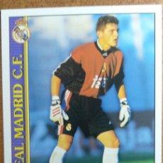 Cromos de Fútbol: 512 IKER CASILLAS ROOKIE CARD RC MUNDICROMO 1999 2000 FICHAS LIGA REAL MADRID CF ÚLTIMA HORA II UH. Lote 243945470