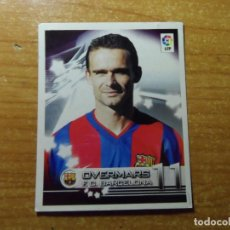 Cromos de Fútbol: OVERMARS DEL BARCELONA CROMO 113 ALBUM SUPER LIGA PANINI 2002 - 2003 ( 02 - 03 ). Lote 243968290