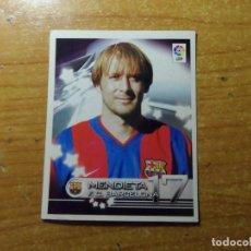 Cromos de Fútbol: MENDIETA DEL BARCELONA CROMO 108 ALBUM SUPER LIGA PANINI 2002 - 2003 ( 02 - 03 ). Lote 243968470