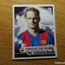 Cromos de Fútbol: FRANK DE BOER DEL BARCELONA CROMO 102 ALBUM SUPER LIGA PANINI 2002 - 2003 ( 02 - 03 ). Lote 243969185