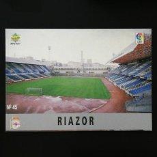 Figurine di Calcio: #045 45 RIAZOR DEPORTIVO DE LA CORUÑA MUNDICROMO 97 98 FICHAS LIGA 1997 1998. Lote 244010155