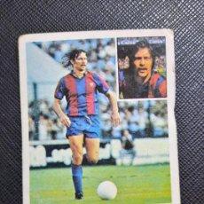 Cromos de Fútbol: MIGUELI BARCELONA ED ESTE 1981 1982 CROMO FUTBOL LIGA 81 82 - SIN PEGAR - 778. Lote 244024550