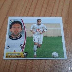 Cromos de Fútbol: MUNTEANU -- ALBACETE -- 03/04 -- ESTE -- RECORTADO. Lote 244024820
