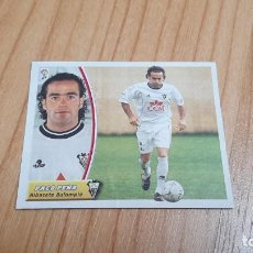 Cromos de Fútbol: PACO PEÑA -- ALBACETE -- 03/04 -- ESTE -- RECORTADO. Lote 244025015