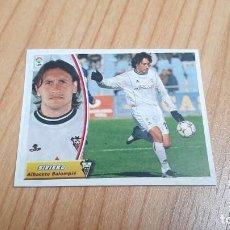 Cromos de Fútbol: SIVIERO -- ALBACETE -- 03/04 -- ESTE -- RECORTADO. Lote 244025090