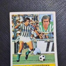 Cromos de Fútbol: CARDEÑOSA REAL BETIS ED ESTE 1981 1982 CROMO FUTBOL LIGA 81 82 - SIN PEGAR - 789. Lote 244025405