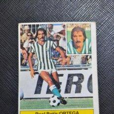 Cromos de Fútbol: ORTEGA REAL BETIS ED ESTE 1981 1982 CROMO FUTBOL LIGA 81 82 - SIN PEGAR - 790. Lote 244025450