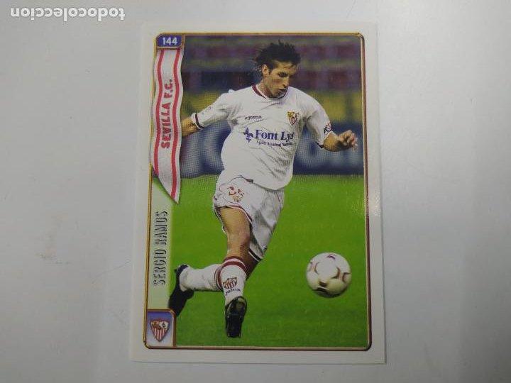 CROMO TARJETA SERGIO RAMOS SEVILLA ROOKIE CARD 2004 2005 04 05 MUNDICROMO NUEVO (Coleccionismo Deportivo - Álbumes y Cromos de Deportes - Cromos de Fútbol)