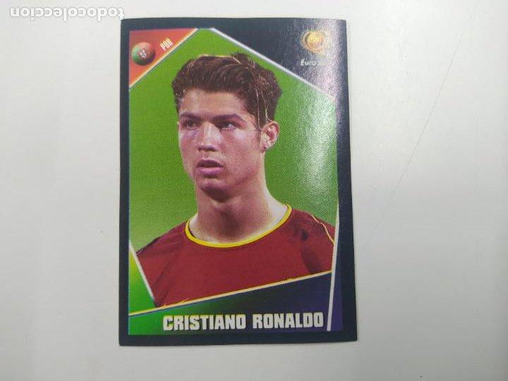 CROMO ALBUM PANINI ROOKIE CRISTIANO RONALDO PORTUGAL EUROCOPA EURO 2004 NUEVO (Coleccionismo Deportivo - Álbumes y Cromos de Deportes - Cromos de Fútbol)