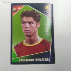 Cromos de Fútbol: CROMO ALBUM PANINI ROOKIE CRISTIANO RONALDO PORTUGAL EUROCOPA EURO 2004 NUEVO. Lote 244190815