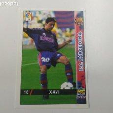 Cromos de Fútbol: CROMO TARJETA XAVI FC BARCELONA ROOKIE CARD 1998 1999 98 99 MUNDICROMO EXCELENTE ESTADO. Lote 244191710