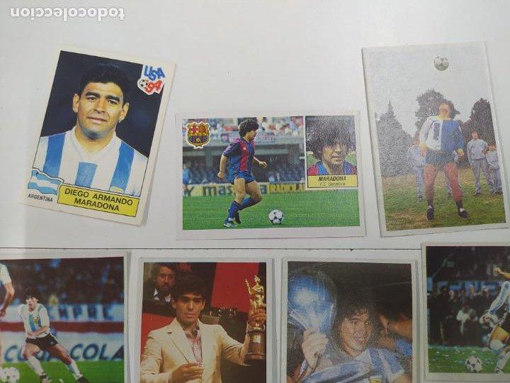 Cromos de Fútbol: LOTE 11 CROMOS DIFERENTES MARADONA 1982 1984 ESTE PANINI MUNDIAL FUTBOL CASI TODOS NUEVOS - Foto 2 - 244193310