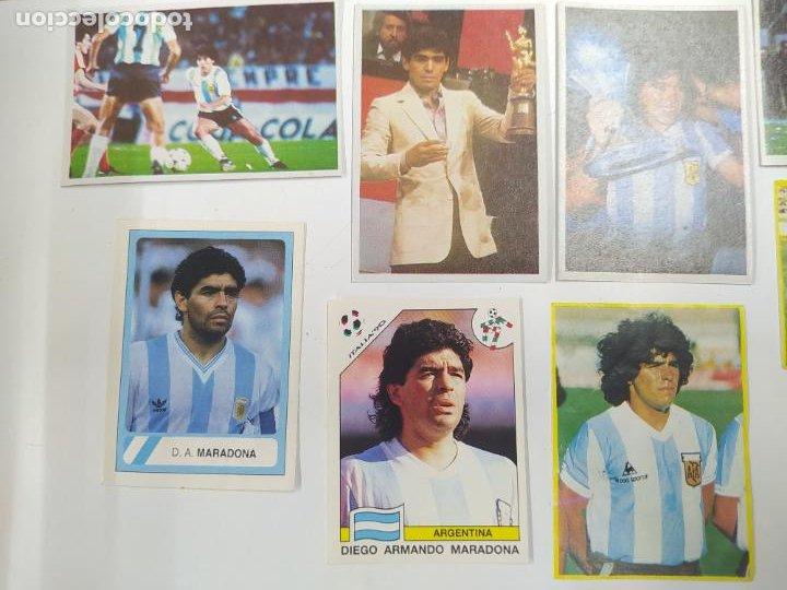 Cromos de Fútbol: LOTE 11 CROMOS DIFERENTES MARADONA 1982 1984 ESTE PANINI MUNDIAL FUTBOL CASI TODOS NUEVOS - Foto 4 - 244193310