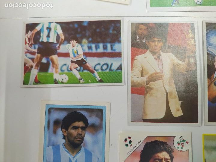 Cromos de Fútbol: LOTE 11 CROMOS DIFERENTES MARADONA 1982 1984 ESTE PANINI MUNDIAL FUTBOL CASI TODOS NUEVOS - Foto 5 - 244193310