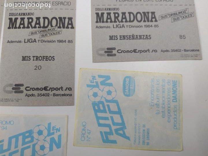 Cromos de Fútbol: LOTE 11 CROMOS DIFERENTES MARADONA 1982 1984 ESTE PANINI MUNDIAL FUTBOL CASI TODOS NUEVOS - Foto 7 - 244193310