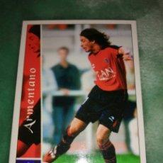Cromos de Fútbol: CROMO ARMENTANO OSASUNA, MUNDICROMO N°456, LIGA 2002 2003, IMPECABLE. Lote 244454810