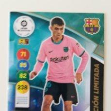 Cromos de Fútbol: ADRENALYN 2020/2021 PEDRI ( ROOKIE CARD ) EDICIÓN LIMITADA - SIN ACTIVAR. Lote 244554390