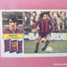 Cromos de Fútbol: EDICIONES ESTE 82/83 MARCOS CON FCB NUNCA PEGADO. Lote 244554865