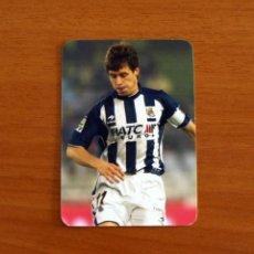 Cromos de Fútbol: REAL SOCIEDAD - Nº 378, ARANBURU - EL MEJOR - LAS FICHAS DE LA LIGA MUNDICROMO 2005-2006-05-06. Lote 244574005