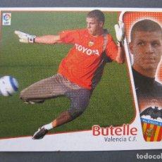 Cromos de Fútbol: BUTELLE (VALENCIA C.F.) - ÚLTIMOS FICHAJES Nº 8 - LIGA 04/05 - EDICIONES ESTE - NUNCA PEGADO.. Lote 244669380