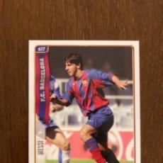Cromos de Fútbol: CROMO MESSI (DEBUT) + ÁLBUM COMPLETO 2005. Lote 244753640