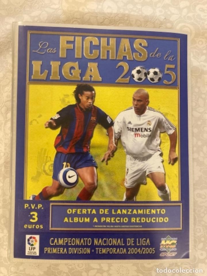Cromos de Fútbol: Cromo Messi (debut) + Álbum Completo 2005 - Foto 3 - 244753640