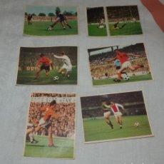 Cromos de Fútbol: 6 CROMOS,ASÍ JUEGA JOHAN CRUYFF,CROPAN. Lote 244862045
