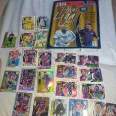 Cromos de Fútbol: CROMOS FUTBOL, MESSI ADRENALIN 15/16 Y ALBUM 2004/05 MUNDICROMO. Lote 244898810
