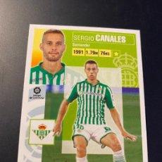 Cromos de Fútbol: CANALES 13 BETIS LIGA2020-21 EDICIONES ESTE PANINI. Lote 244914075
