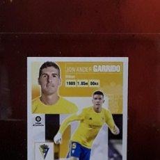 Cromos de Fútbol: LE LIGA ESTE 2020 2021 SANTANDER 20 21 CROMO PANINI FUTBOL N 10A 10 A CADIZ GARRIDO. Lote 244950285