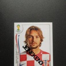 Cromos de Fútbol: FIFA WORLD CUP BRASIL 2014 61 NIKO KRANJCAR CROACIA. Lote 244950360