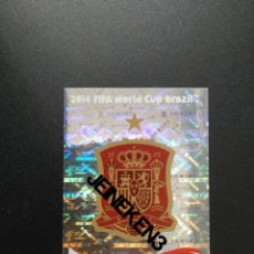Cromos de Fútbol: FIFA WORLD CUP BRASIL 2014 108 ESCUDO ESPAÑA. Lote 244950510