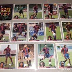 Cromos de Fútbol: LOTE COMPLETO FC BARCELONA 1997 LOS MEJORES EQUIPOS DE EUROPA CHAMPIONS PANINI. Lote 244953090