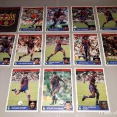 Cromos de Fútbol: LOTE COMPLETO FC BARCELONA 1998 LOS MEJORES EQUIPOS DE EUROPA CHAMPIONS PANINI. Lote 244953110