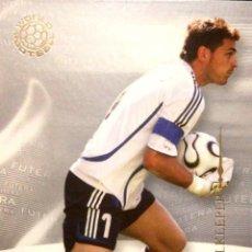 Cromos de Fútbol: 3 IKER CASILLAS - REAL MADRID - ESPAÑA - FUTERA WORLD FOOTBALL UK 2006 2007 06 07. Lote 245100910