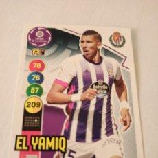 Cromos de Fútbol: Nº 330 EL YAMIQ - VALLADOLID - ADRENALYN XL 2020 2021 - 20-21. Lote 245108870