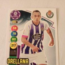 Cromos de Fútbol: Nº 339 ORELLANA - VALLADOLID - ADRENALYN XL 2020 2021 - 20-21. Lote 245109570