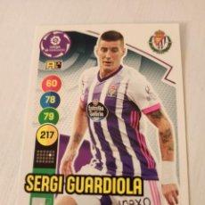 Cromos de Fútbol: Nº 340 SERGI GUARDIOLA - VALLADOLID - ADRENALYN XL 2020 2021 - 20-21. Lote 245109665