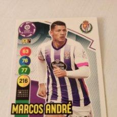 Cromos de Fútbol: Nº 341 MARCOS ANDRÉ - VALLADOLID - ADRENALYN XL 2020 2021 - 20-21. Lote 245109745