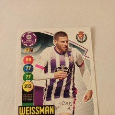 Cromos de Fútbol: Nº 342 WEISSMAN - VALLADOLID - ADRENALYN XL 2020 2021 - 20-21. Lote 245109820