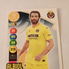 Cromos de Fútbol: Nº 347 ALBIOL - VILLARREAL - ADRENALYN XL 2020 2021 - 20-21. Lote 245110245