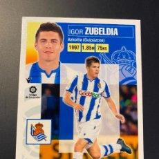 Cromos de Fútbol: ZUBELDIA 10 REAL SOCIEDAD LIGA2020-21 EDICIONES ESTE PANINI. Lote 245128195