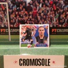 Cromos de Fútbol: CROMO LIGA ESTE 2008 2009 08 09 BARCELONA *VICTOR VALDES* NUNCA PEGADO. Lote 245399895