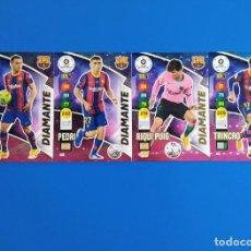 Cromos de Fútbol: ADRENALYN XL 2020 2021 / 20 21 DEST - PEDRI - RIQUI PUIG - TRINCAO (BARCELONA) DIAMANTE. Lote 245464040