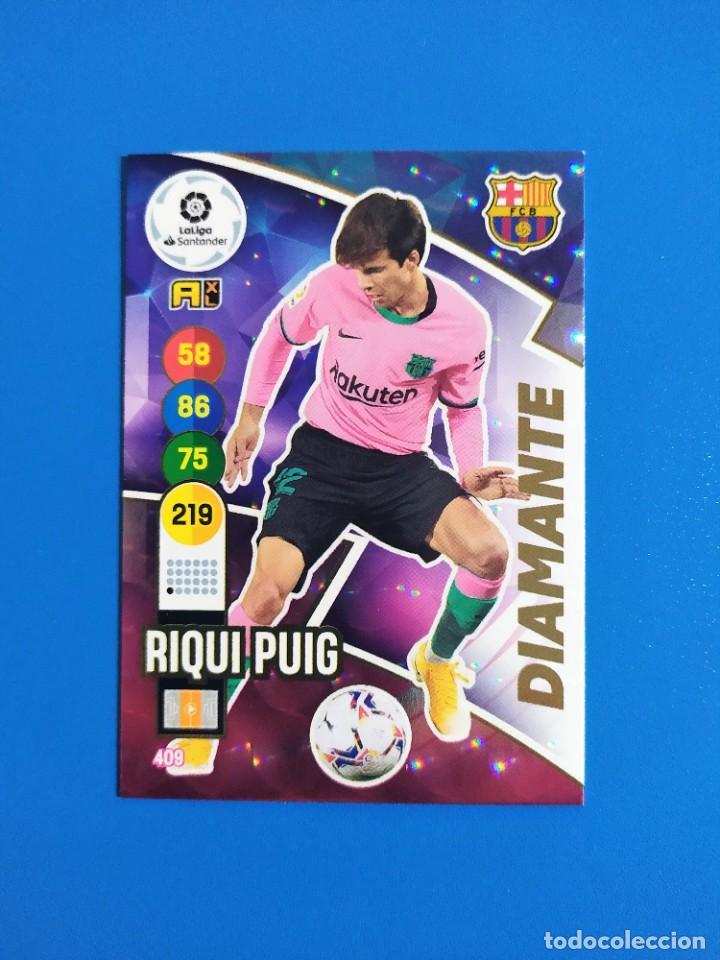 Cromos de Fútbol: Adrenalyn XL 2020 2021 / 20 21 Dest - Pedri - Riqui Puig - Trincao (Barcelona) Diamante - Foto 4 - 245464040