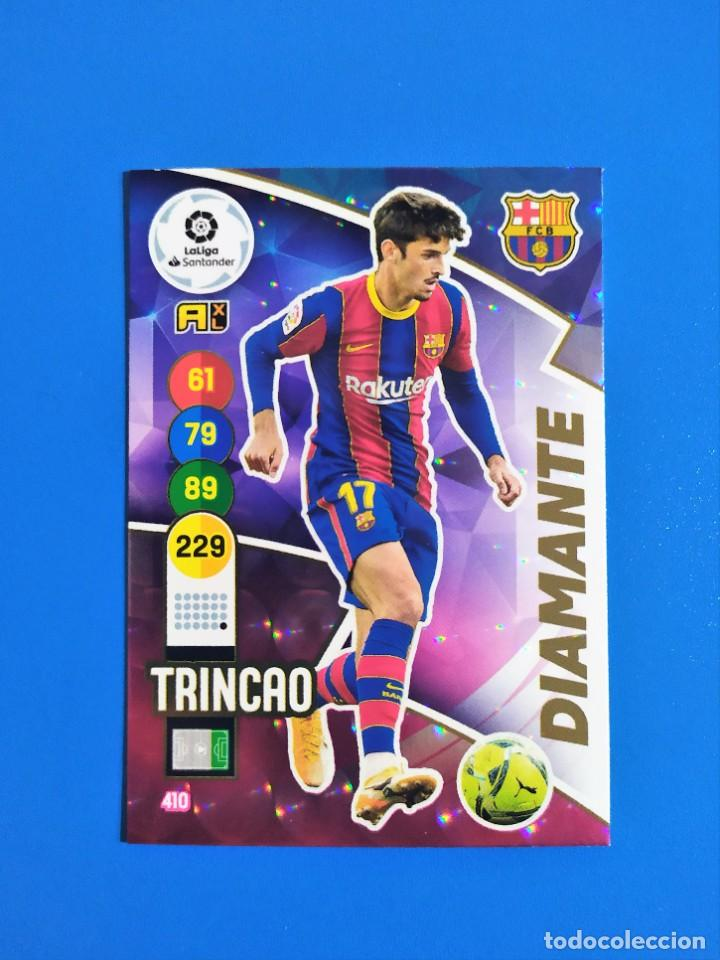 Cromos de Fútbol: Adrenalyn XL 2020 2021 / 20 21 Dest - Pedri - Riqui Puig - Trincao (Barcelona) Diamante - Foto 5 - 245464040