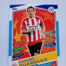 Cromos de Fútbol: 10 GUARDADO (PSV EINDHOVEN) CHAMPIONS LEAGUE TOPPS MATCH ATTAX 2016 2017 16 17. Lote 246016120